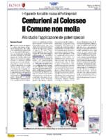 Centurioni al Colosseo