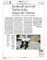 Incubo all'Ara Coeli.Turista Belga sfugge alla violenza