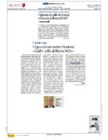 """Opposizioni contro Simioni.""""Gaffe sulla delibera M5S"""""""