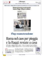 Roma in ginocchio per un temporale. Flop prevenzione