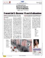 Record al S.Giacomo 10 anni di abbandono