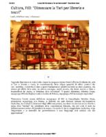 Cultura FdI Dimezzare la Tari per librerie e teatri