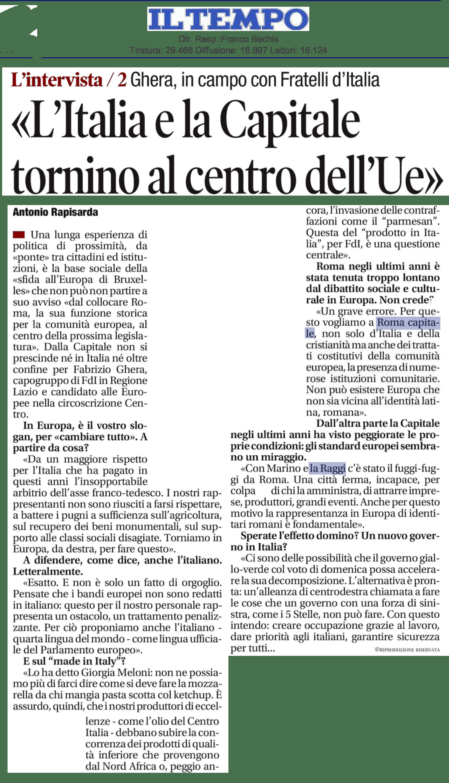 CAPITALE, GHERA: STRADE AL COLLASSO. CANTIERI FERMI E BANDI PUBBLICI AL PALO. RAGGI ABBANDONA ROMA