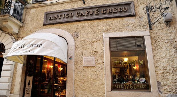 Roma, istituzioni insieme per il Caffè Greco