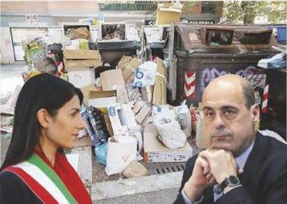 Rifiuti di Roma, Zingaretti sposta problemi città a Viterbo
