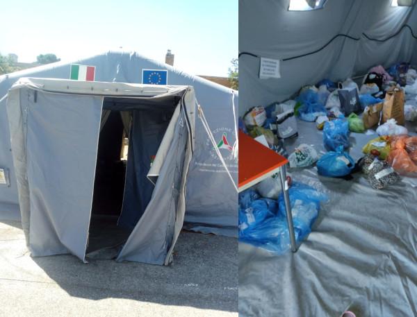 Covid, interrogazione su sacchi di immondizia all'interno dei tendoni covid dell'ospedale Grassi