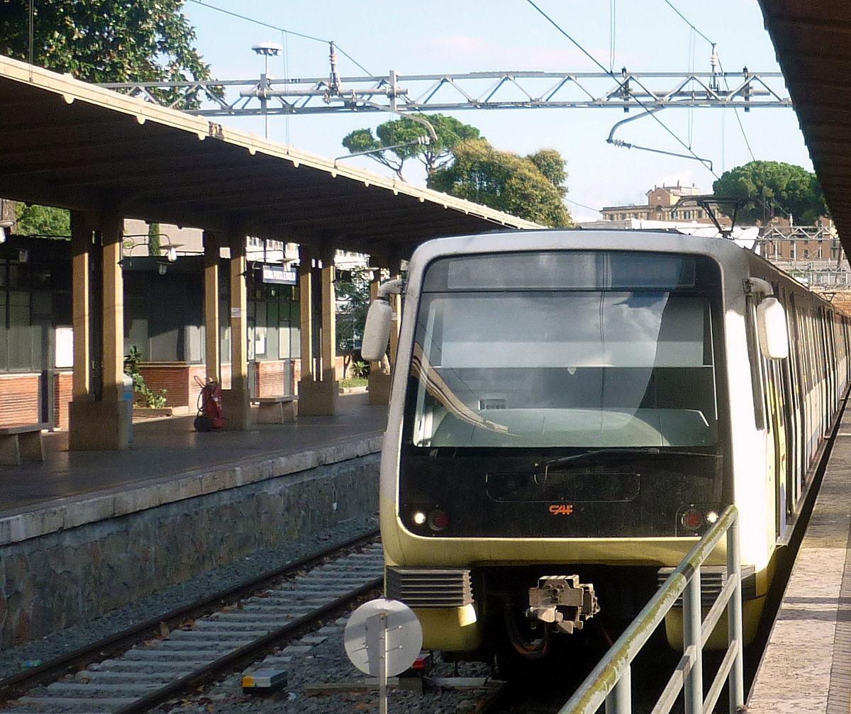Aprire cantiere stazione Giardino di Roma